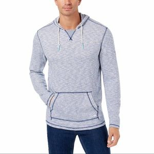 Bay front striped hoodie